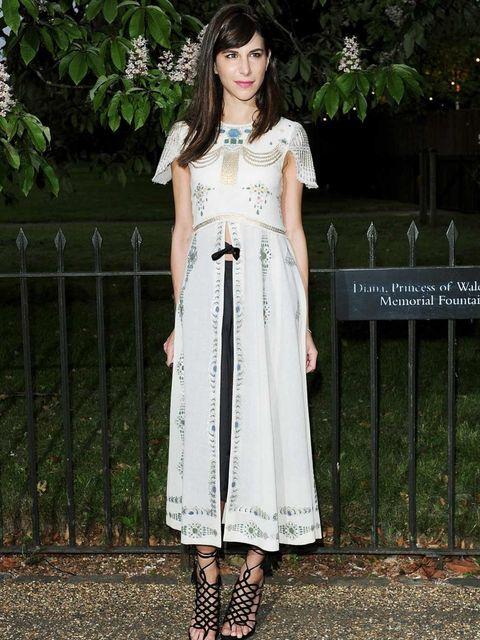 <p>Caroline Sieber in Chanel at the Serpentine Summer Party</p>