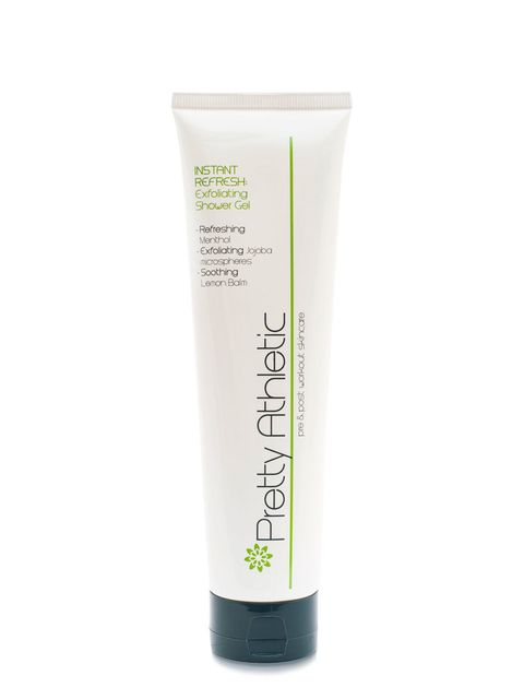 "<p><a href=""http://www.prettyathletic.com/products/instant-refresh"" target=""_blank"">Pretty Athletic, Instant Refresh: Exfoliating Shower Gel, £12.50</a></p>  <p>Two-in-ones are a must. This shower gel perks you up after a workout (thanks to the menthol an"