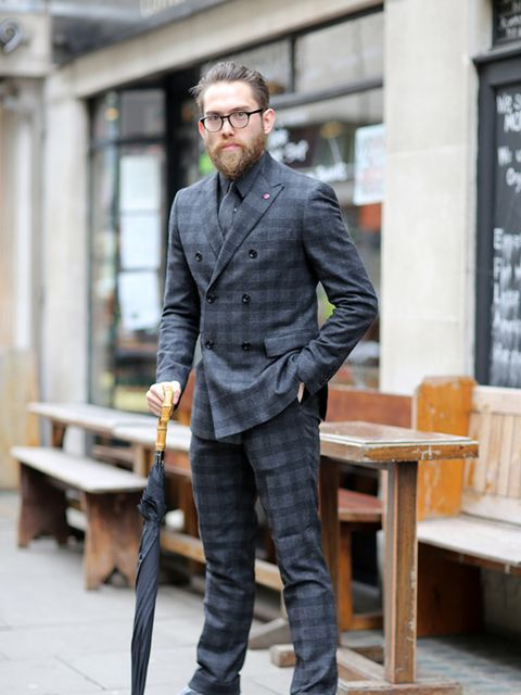 <p>Daniel Rhone</p>  <p>Pretty Green, Shirt, tie, and Post shoes.</p>