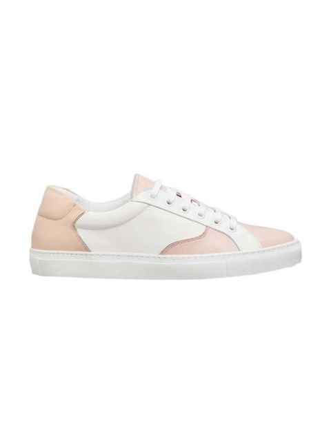 "<p>Fashion Assistant Molly Haylor is a woman possessed when it comes to buying trainers.</p>  <p><a href=""http://www.stories.com/gb/New_in/All_new_in/Gold_Trim_Leather_Sneakers/591727-101829588.1"" target=""_blank"">& Other Stories</a> trainers, £79</p>"