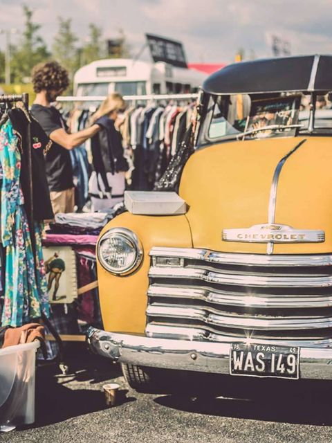 <p>SHOPPING: The Classic Car Boot Sale</p>  <p>Now, we wouldn't ordinarily suggest a day's shopping at a car boot sale. But then, this King's Cross shindig is no ordinary car boot sale. This is a chance to shop covetable vintage fashion, retro-chic access