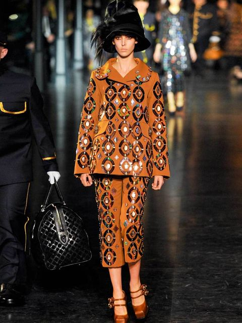 <p>BE-JEWELLED</p><p>Encrusted and be-jewelled; autumn 12 embellishment is less glitzy and more architectural with Chanel using imposing shards of crystal, and Prada opting to decorate dresses with 3-D ornamentation. Rather than pretty sparkles, next seas
