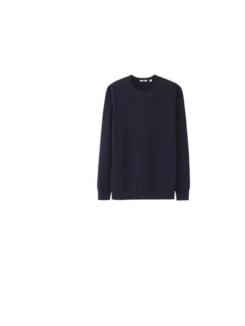 """<p>A light knit is the perfect transeasonal buy - wear over tees in the warmer months and under coats when the temperature drops, <a href=""""http://www.uniqlo.com/uk/store/goods/078686"""">Uniqlo</a> sweater, £19.90</p>"""