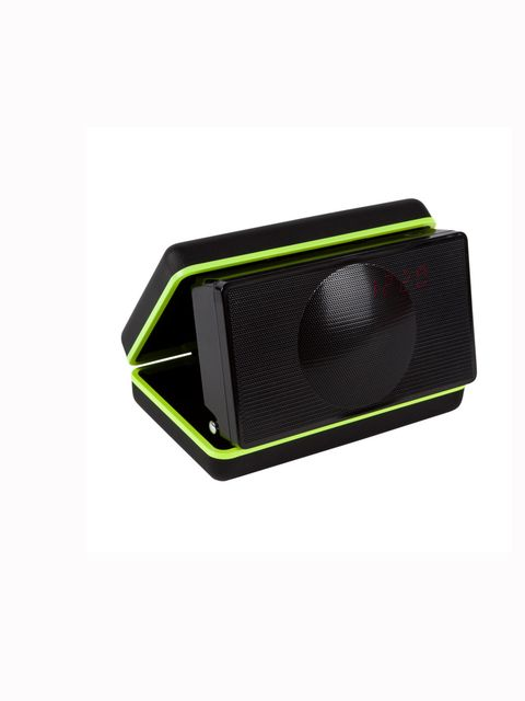 "<p>We never want to travel without one. <a href=""http://www.paulsmith.co.uk/uk-en/shop/gifts-things"">Paul Smith</a> bluetooth speaker system, £199</p>"