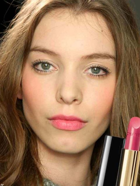 "<p>Pink is the fastest way to brighten your complexion on dull days. Try dabbing Chanel Rouge Allure Lipstick in Insolente, £24 (<a href=""http://www.boots.com/en/CHANEL-ROUGE-ALLURE-Luminous-Satin-Lip-Colour_24600/"">Boots</a>), onto lips for a laid-back w"