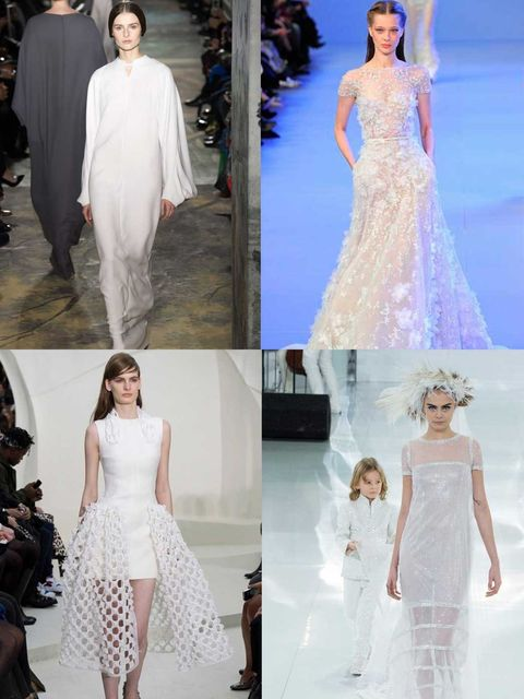 "<p>We love a wedding at ELLE. The proposal. The ring. The dresses. Oh the dresses.... We ooo'd and we ahhh'd over the Couture shows and dreamed that maybe, just maybe, one day we could get married in one of these.</p><p><em><a href=""http://www.elleuk.com/"