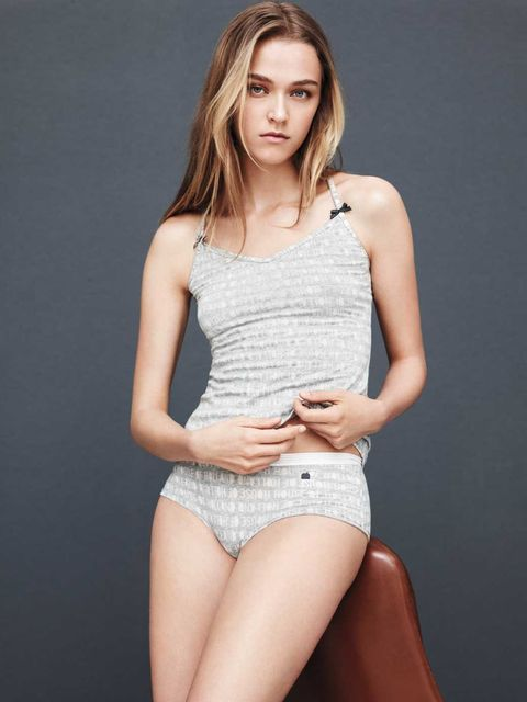 <p>House of Holland devore underwear</p>
