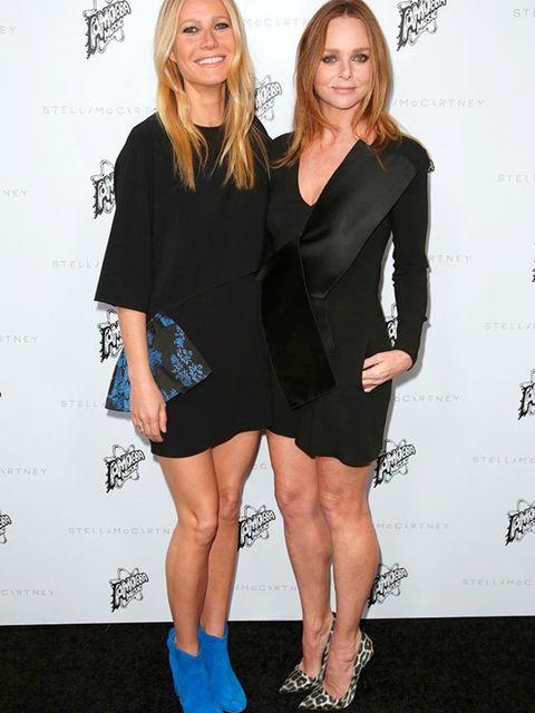 Gwyneth Paltrow and Stella McCartney at the Stella McCartney 2016 Fall presentation in LA, January 2016