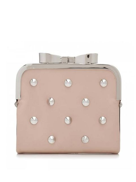 """<p> </p><p>Accessories are key to a well put together look and this super cute purse will give any outfit a feminine edge. Sonia by Sonia Rykiel studded purse, £150, at <a href=""""http://www.harveynichols.com/womens/highlights/new-in/s352465-studded-leather"""