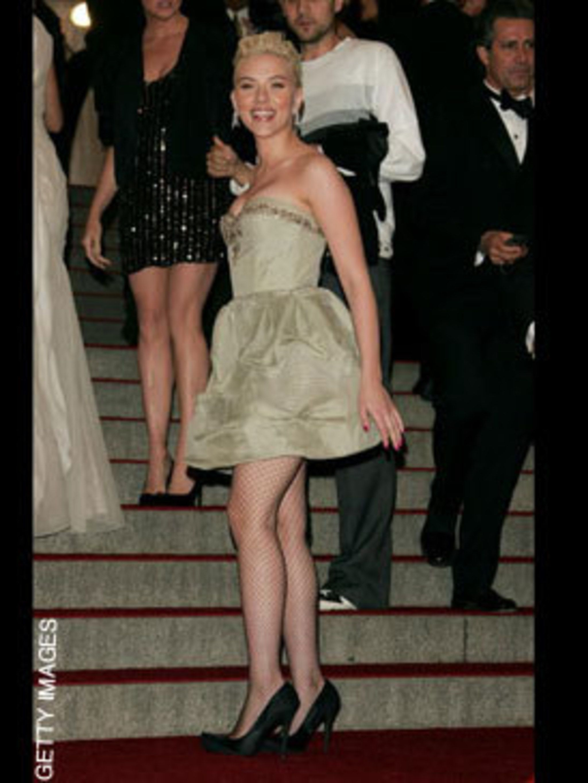 <p>Scarlett Johansson in Stella McCartney</p>