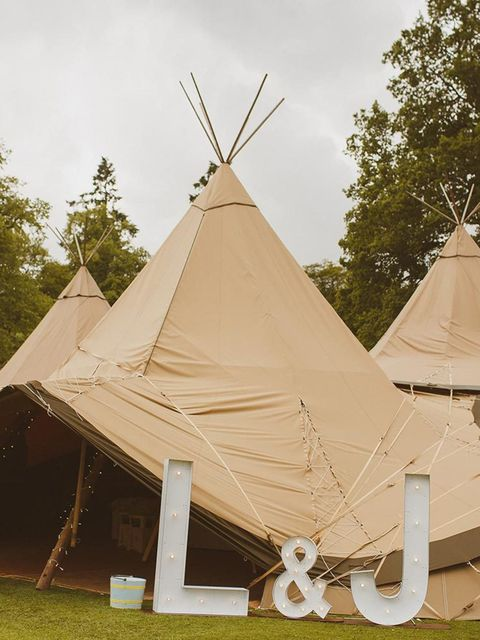 We loved the idea of having the party in a giant tipi as it blended in with the outdoorsy, countryside, festival feel. We used Papakata and they were absolutely fantastic to work with.