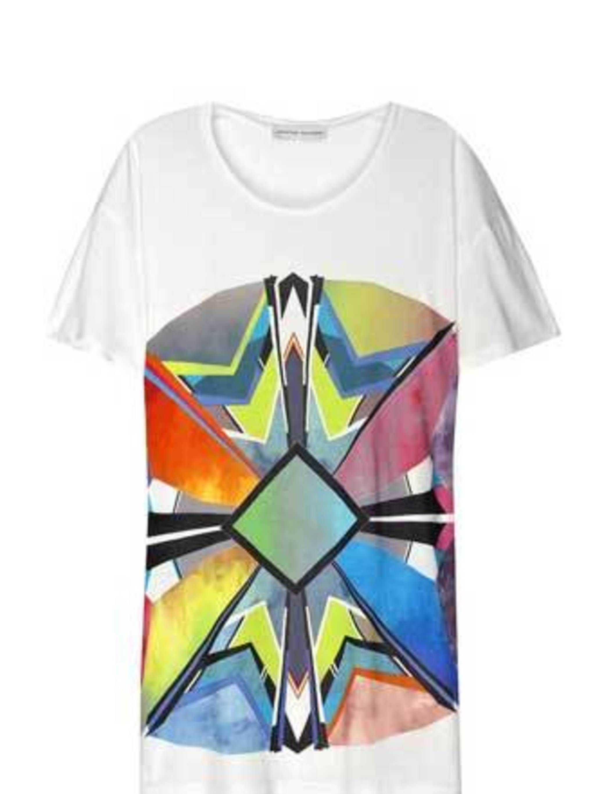 """<p>Brighten up your wardrobe palette of grey, black and navy with this brighter-than-bright oversize tee.</p><p>Oversize T-Shirt, £185 by Jonathan Saunders at <a href=""""http://www.net-a-porter.com/product/63167"""">Net-a-Porter</a></p>"""