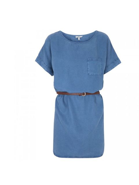 "<p>An understated denim dress is the one the first things you should buy when summer approaches. Wear with tan leather accessories or a add splash of colour with a neon lip... Joie denim tunic dress, £180, at <a href=""http://www.harveynichols.com/womens/c"