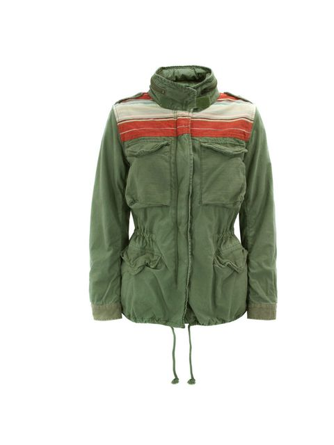 "<p>A parka makes for the perfect spring cover-up so invest in the best, complete with a foldaway hood… Denim & Supply Ralph Lauren parka, £195, at <a href=""http://www.coggles.com/item/Denim-and-Supply-Ralph-Lauren/Serape-Olive-Field-Jacket/AA8M"">Coggl"