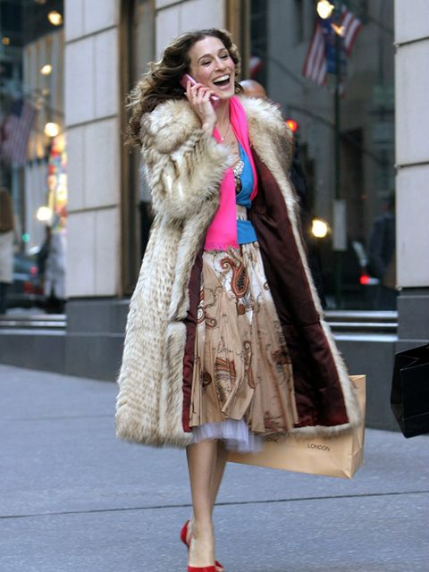<p>Quite possibly Manolo Blahnik's biggest fan, Carrie Bradshaw was even mugged for a pair in Sex And The City.</p>