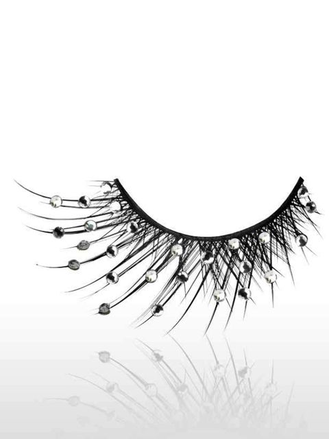<p>Add instant sparkle with these limited edition lashes. They've already sold out once and are back in stock, so snap them up fast!</p><p>Birthday Lashes, £25 by Illamasqua</p>