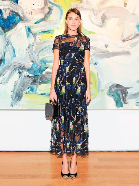 """<p><a href=""""http://www.elleuk.com/fashion/celebrity-style/alexa-chung-s-style-file"""">Alexa Chung</a> in <a href=""""http://www.elleuk.com/catwalk/valentino/spring-summer-2015"""">Valentino</a>.</p><p>Picture: Rex</p>"""