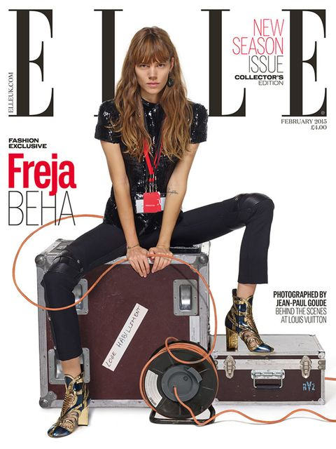 Freja Beha, special cover, February 2015.