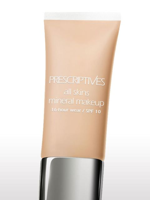 <p>This lightweight, build-able formula gives long-lasting coverage.</p><p>All Skins Mineral Makeup 16 Hour Wear SPF10, £24, by Prescriptives</p>