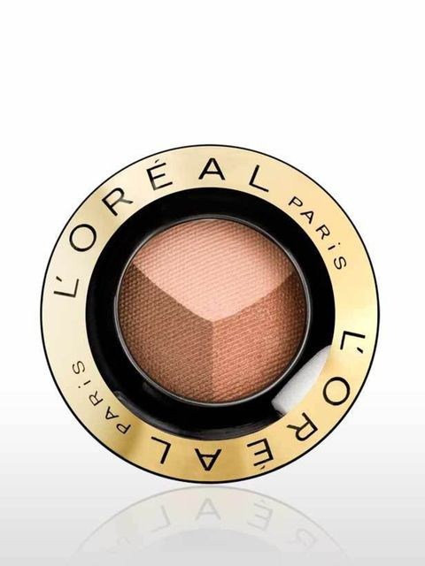 <p>Complement your low-key complexion with this trio of natural shades.</p><p>ColorAppeal Trio Pro in 403 Golden Fidelity, £7.99, by L'Oreal. Available Nationwide.</p>