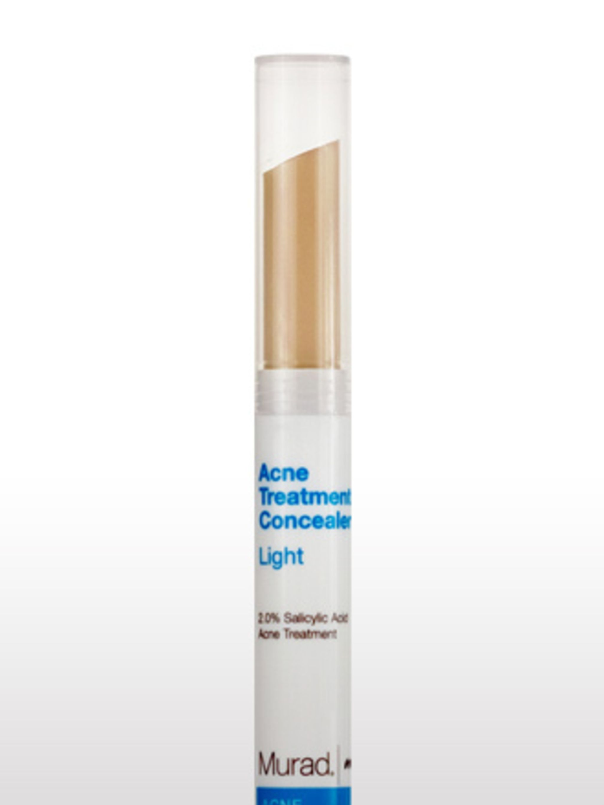 """<p>Acne Treatment Concealer, £12 by <a href=""""http://www.muraduk.com/index.php?page=contact"""">Murad</a></p><p>Murad's concealer is the perfect spot covering consistency and colour. Smelling reassuringly medicinal, without ever being overpowering, this conce"""