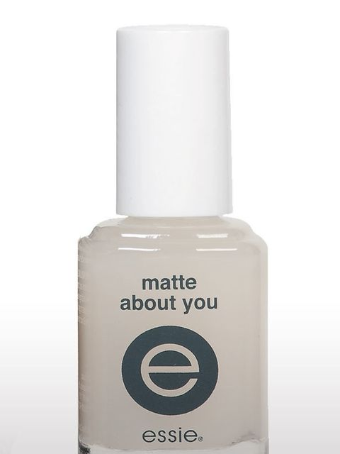 "<p>Top Coat in Matte About You, £8.95 by <a href=""http://www.nailsbymail.co.uk/store/home/matte-about-you-"">Essie</a></p>"