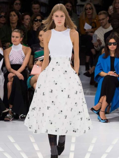 """<p>Another stunning <a href=""""http://www.elleuk.com/catwalk/christian-dior/spring-summer-2015"""">Dior</a> dress to add to <a href=""""http://www.elleuk.com/fashion/celebrity-style/jennifer-lawrence#image=1"""">Jennifer Lawrence</a>'s collection.</p>"""