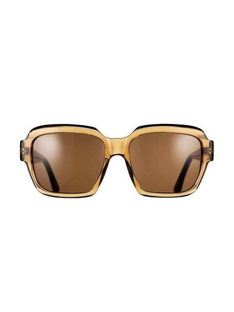 "<p>An oversized nod to the seventies trend.</p>  <p><a href=""http://www.kirkoriginals.com/uk/sun/women-s-sun/amalfi-113"" target=""_blank"">Kirk Originals</a> sunglasses, £265</p>"