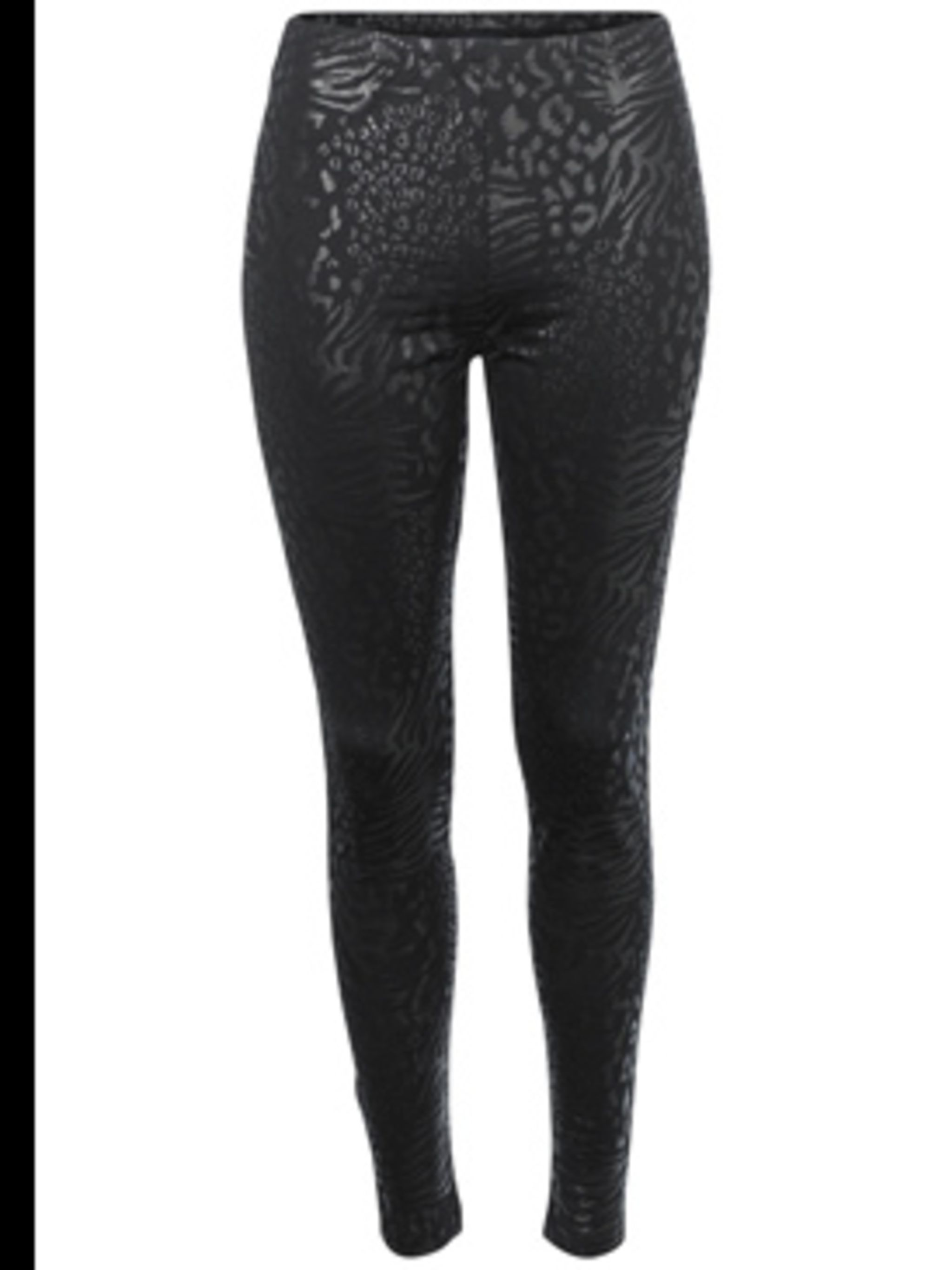 "<p>Leopard print tonal leggings, £35, by <a href=""http://www.frenchconnection.com/product/womens+Spring09/74DE1/Leo+Leggings.htm"">French Connection</a></p>"