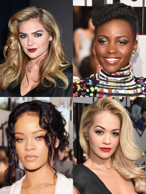 <p>Side partings reigned supreme as the hairstyle of the night at the MTV Movie Awards with Kate Upton, Rita Ora and Jessica Alba combing the part of choice with retro waves. While Ellie, Shailene and Iggy went for a modern take with textured ends,