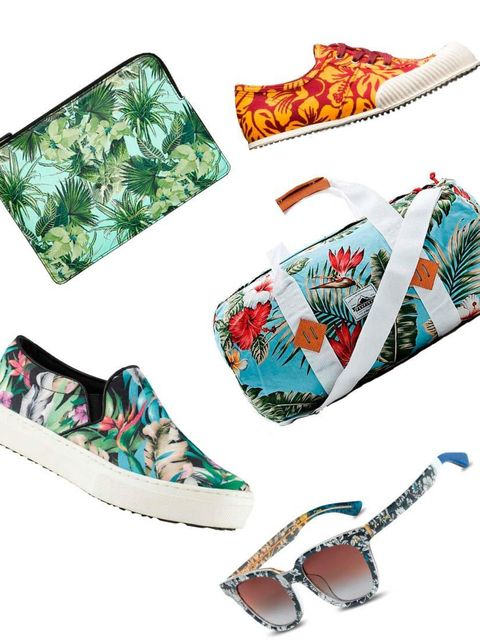 <p>Palms, pineapples and prints. Accessories are having a tropical moment ..</p>