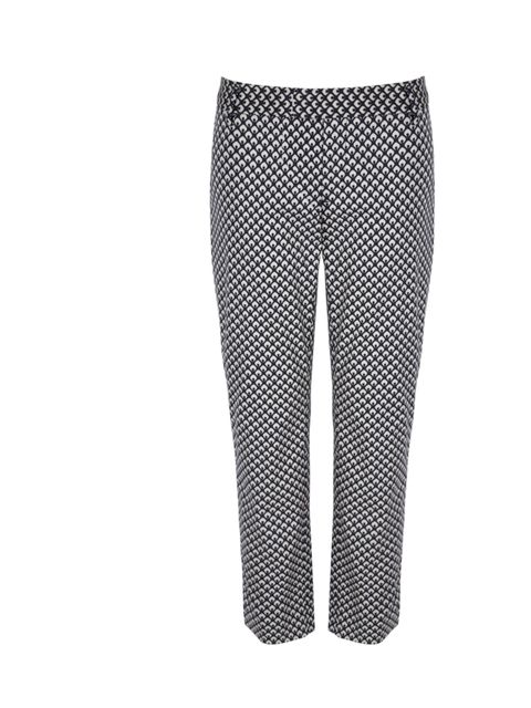 "<p><a href=""http://www.gap.eu/browse/category.do?cid=57397"">Gap</a> monochrome cropped printed trousers, £29.95</p>"