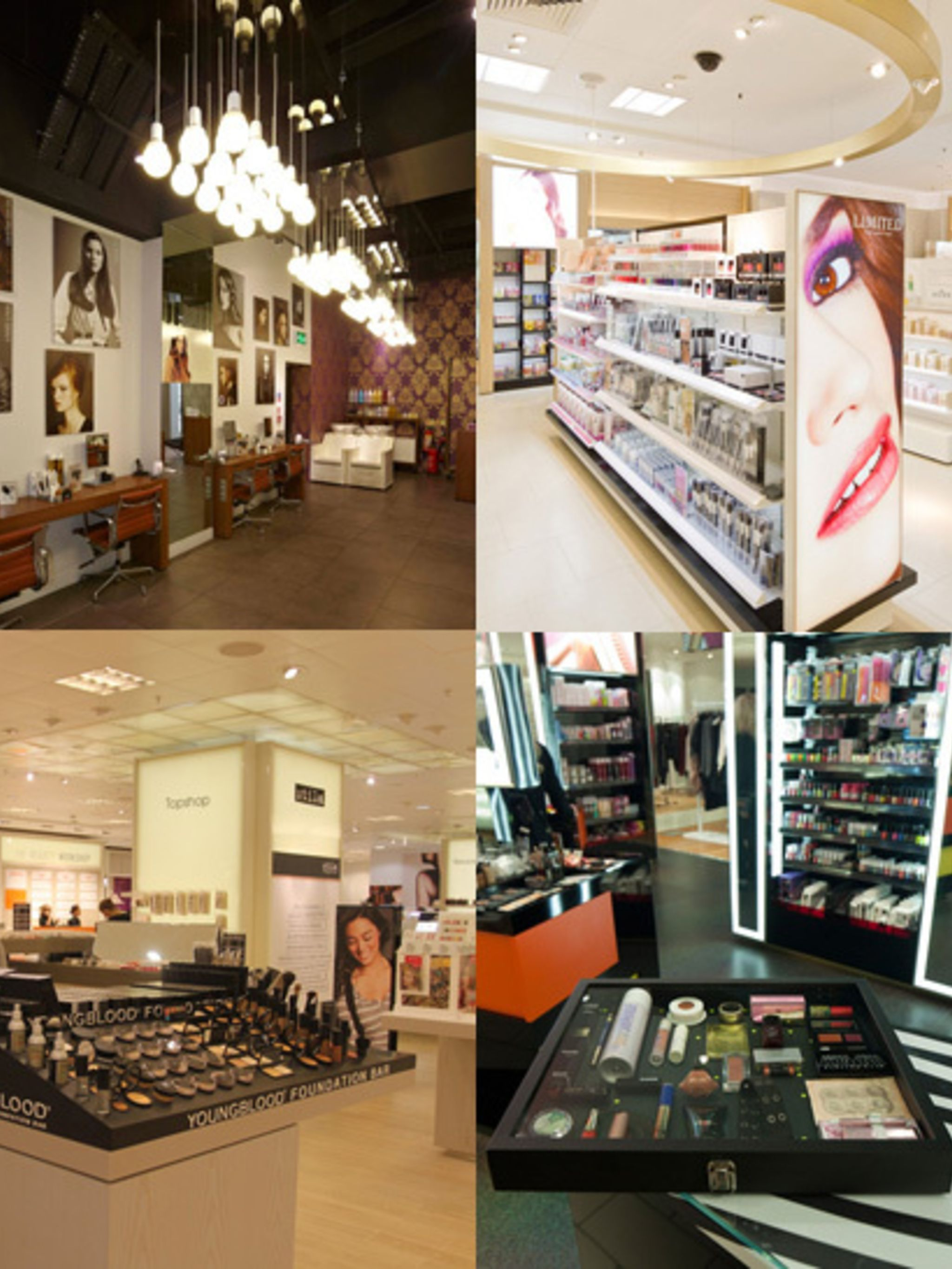 <p>With 1 in 5 women buying all their beauty products online and the rest starting to go that way, traditional beauty halls are pulling out all the stops to get us back into their mecca. From independent beauty advisors and foundation matching devices to
