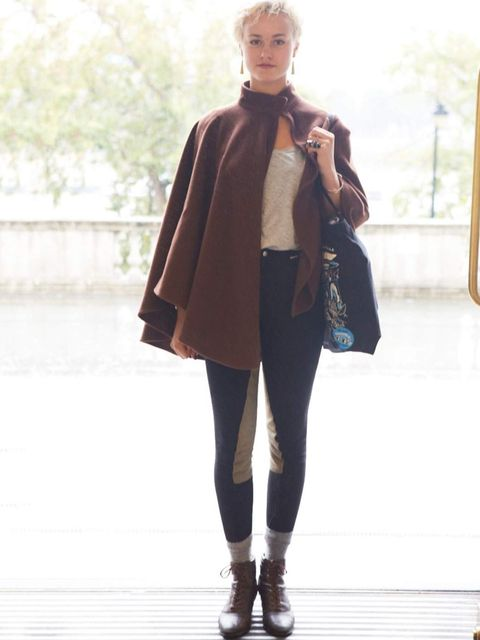 <p>Cosmia, Student. Vintage jacket, H&amp&#x3B;M top, riding pants, Topshop shoes.</p>