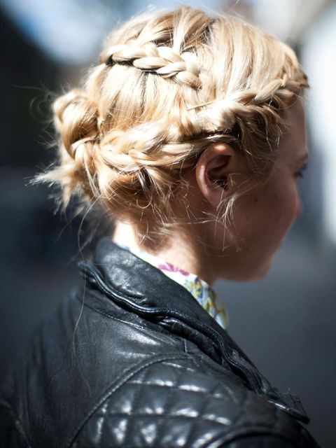 <p><strong>Sarah says:</strong> Spring summer 12's love affair with the ultra girly trend is the perfect excuse for frothy and feminine hair and although I love the look I was quite hesitant that it would be time consuming and fidd