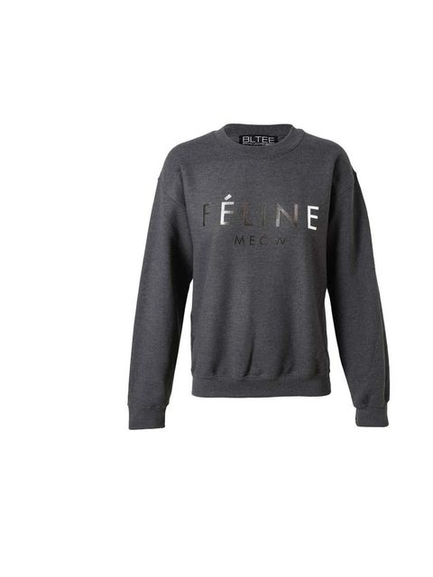 "<p>Brian Lichtenberg 'Feline' sweatshirt, £100 at <a href=""http://www.brownsfashion.com/product/031G22650007/080/charcoal-cotton-39feline39-sweatshirt"">Browns </a></p>"