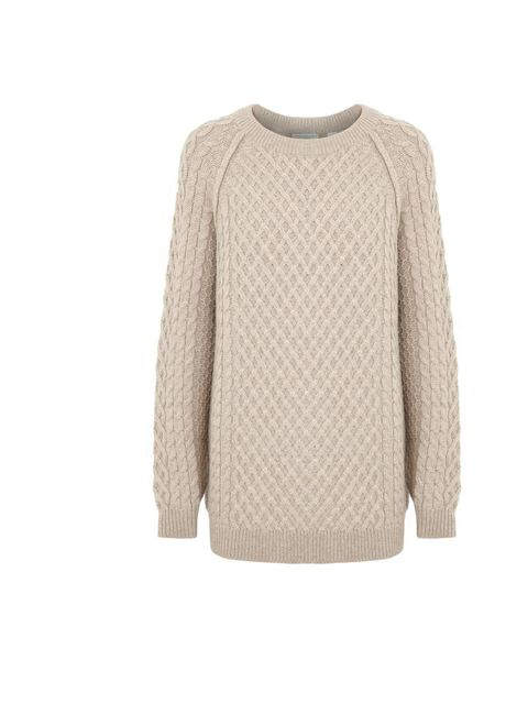 "<p>The perfect chunky knit…Chinti and Parker jumper, £365 at <a href=""http://www.harveynichols.com/womens/categories-1/designer-knitwear/jumpers/s424909-aran-knit-merino-wool-jumper.html?colour=CREAM"">Harvey Nichols</a></p>"