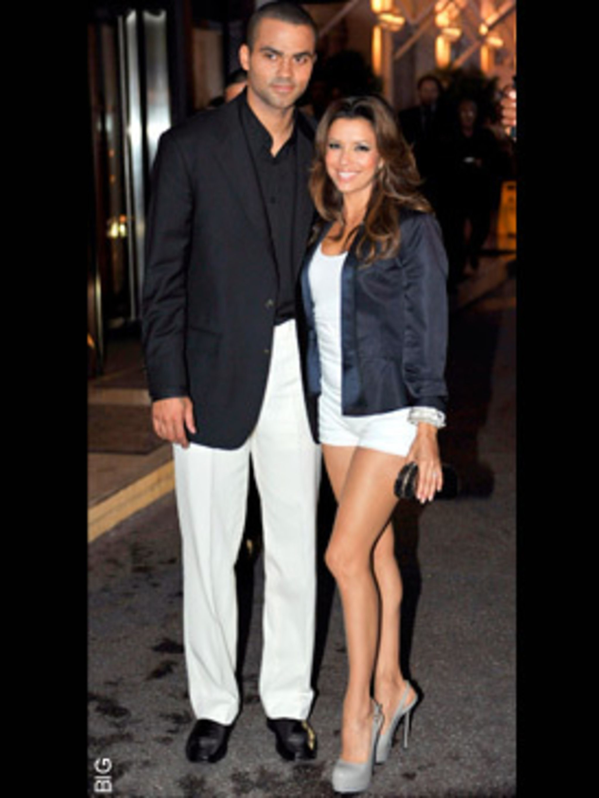 <p>Tony Parker and Eva Longoria</p>