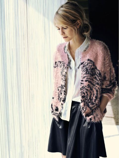 <p>Poppy Delevingne for Vero Moda, a/w 2013</p>