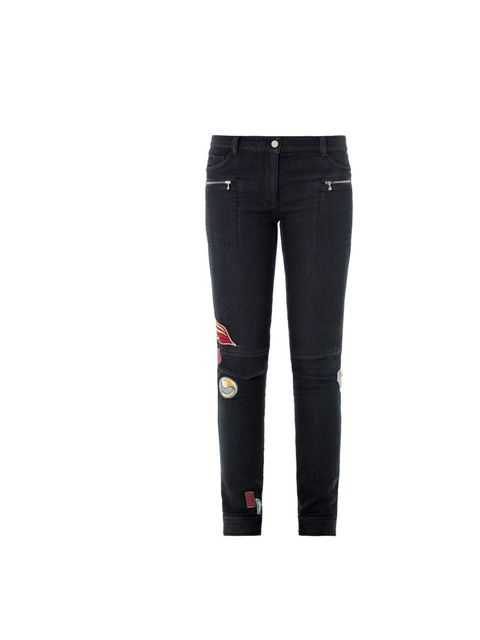 "<p>Swap tried and trusted denim for 3.1 Phillip Lim's badge embellished jeans, £315, at <a href=""http://www.matchesfashion.com/product/166457?qxjkl=tsid:30065%7Ccat:0RpXOIXA500"">Matches Fashion</a></p>"