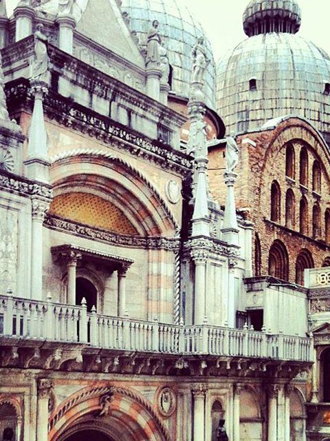 <p>'The Basilica in Piazza San Marco, Venice'</p>