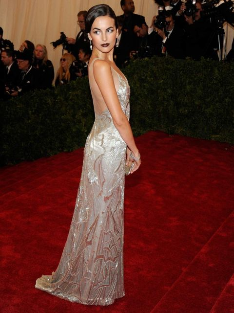 <p>Camilla Belle in Ralph Lauren. 'It's perfection,' says Alannah Sparks, ELLEuk.com acting fashion editor. 'It's the right amount of sexy and the right amount of chic, and she makes it look fresh.'</p>