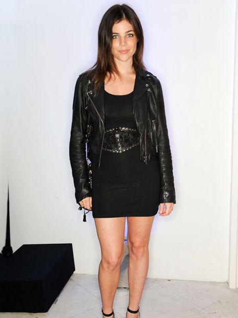 <p>Julia Restoin-Roitfeld attends Armani's Summer Garden Live in London, July 2011.</p>