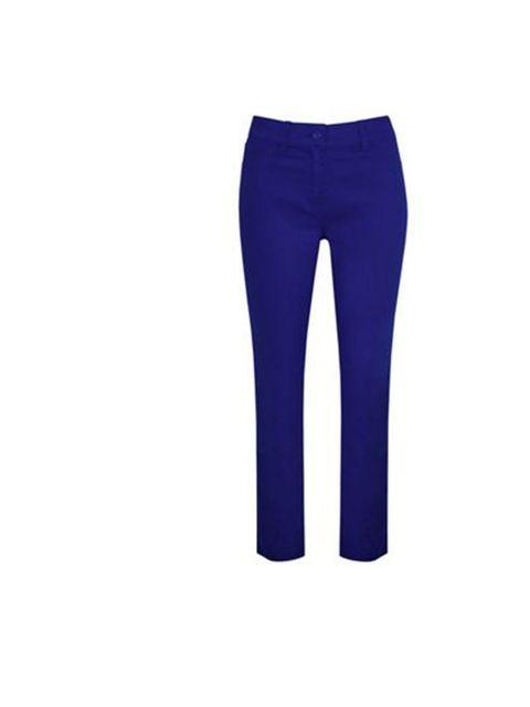"<p>Kaliko trousers, £42, at <a href=""http://www.houseoffraser.co.uk/Kaliko+Cobalt+blue+jegging/181925789,default,pd.html"">House of Fraser </a></p>"