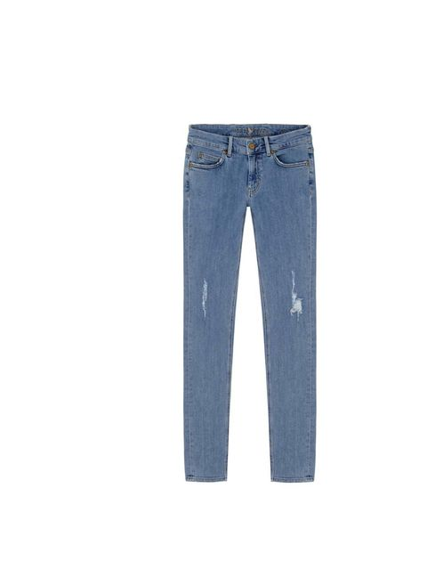"<p>Steer clear of classic indigo - a pale blue jean will give your dark winter wardrobe a lift.</p><p><a href=""http://www.mih-jeans.com/womens-jeans/the-breathless-lauren.html"">MiH</a> jeans, £196</p>"