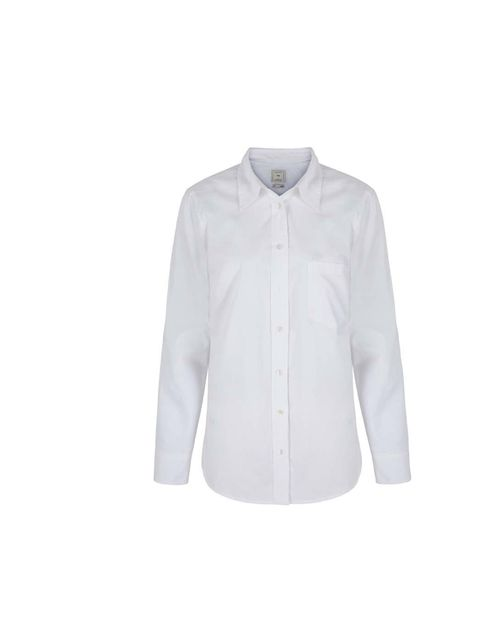 "<p>A crisp white shirt is a great foundation for winter layering. </p><p><a href=""http://www.gap.co.uk/browse/product.do?cid=57359&vid=1&pid=000870925002"">Gap</a> shirt, £29.95</p>"