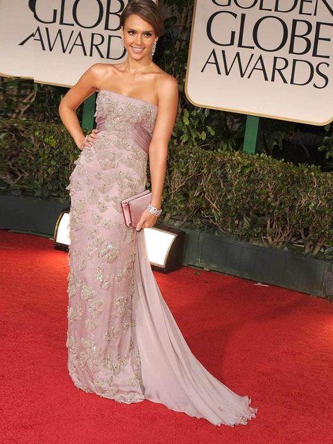 """<p><a href=""""http://www.elleuk.com/star-style/celebrity-style-files/jessica-alba"""">Jessica Alba</a> in Gucci </p>"""