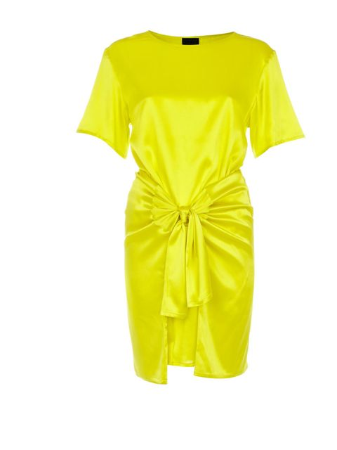 <p>Yellow double tee dress with tied waist £70</p>