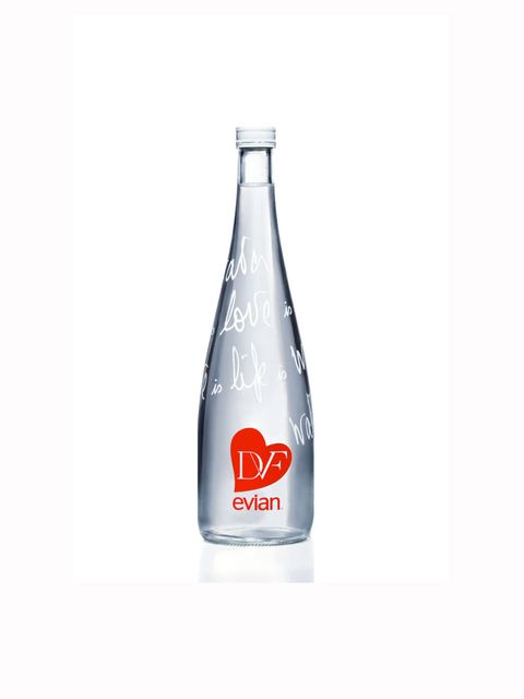 <p>DVF limited edition bottle for Evian</p>