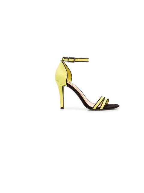 <p>Zara statement sandals, £25.99, for stockists call, 0207 534 9500</p>
